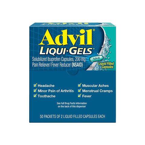 DSP* ADVIL 50'S LIQ-GELS  (BX)