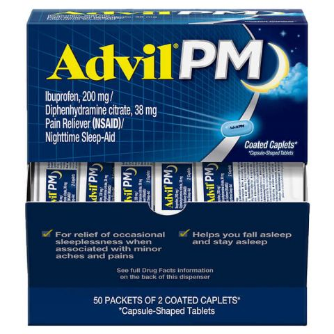 DSP* ADVIL PM 50'S (BX)