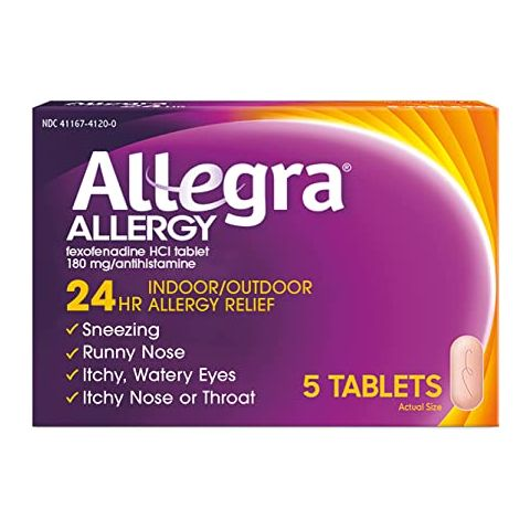 ALLEGRA 5'S 24HR TAB (41205) 6pc