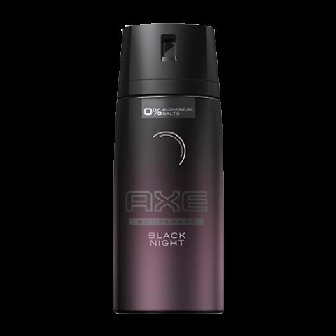 AXE D/SPRAY 150ml BLACK NIGHT (DZ)