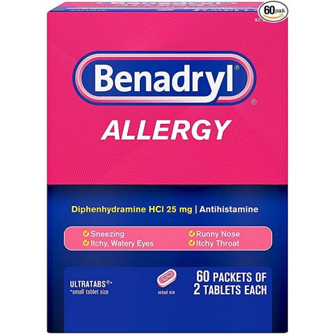 DSP* BENADRYL 60'S ALLERGY ***