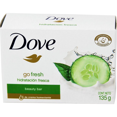 DOVE SP 135G/48'S FRESH TOUCH (GRN) (4DZ)