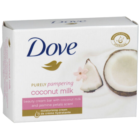 DOVE SP 135G/48'S COCONUT OIL (06577) (4DZ)