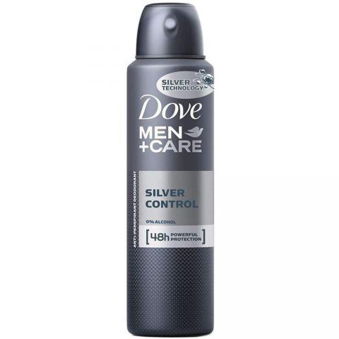 DOVE D/SPRAY 150ml SILVER CONTROL FOR MEN (6PC)