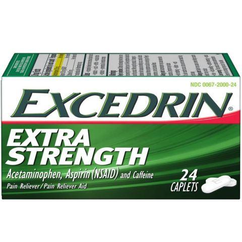 EXCEDRIN E/S 24'S CAP *** (6PC)