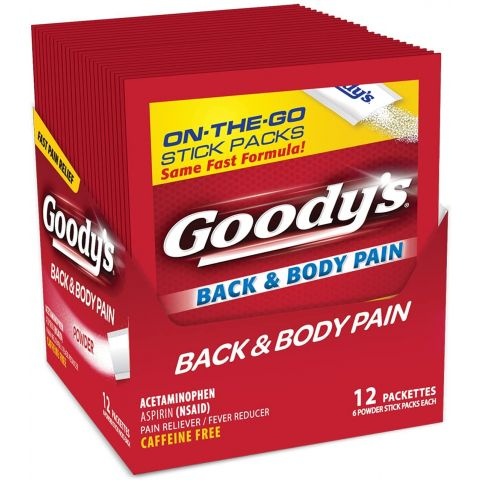 GOODYS B/B PAIN 6*12 (00125) (BX)