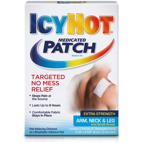 ICY HOT 5'S PATCH (00841-6) (4PK)