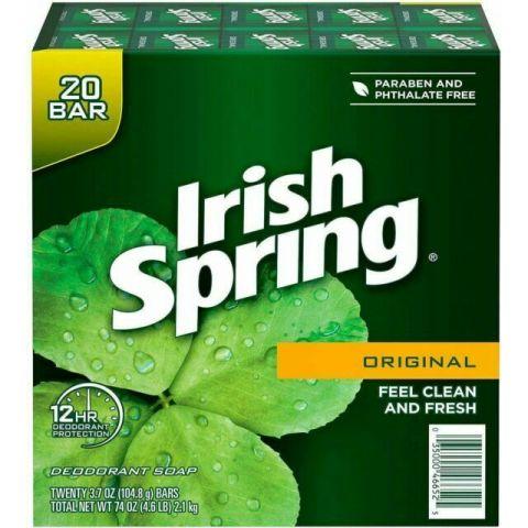 IRISH SPRING 3.75OZ 80'S ORG