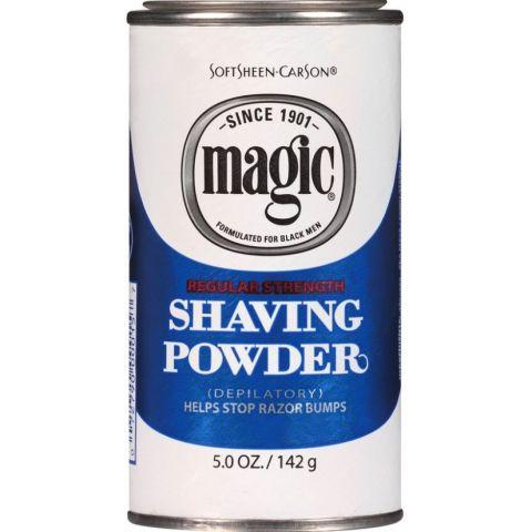 MAGIC SHAVE BLUE #15  6pc