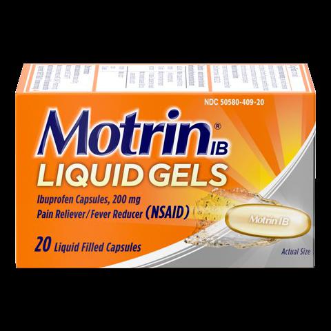 MOTRIN 20'S LIQ-GEL CAP (6PC)