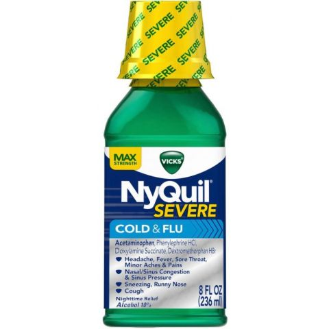 NYQUIL ORG 8oz *** (6PC)