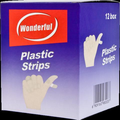 PLASTIC BANDAGE 10'S * 12 (FABRIC) (BX)