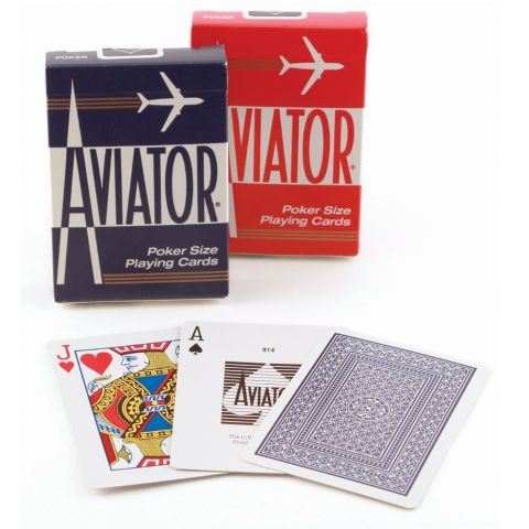 PLAYING CARDS AVIATOR #914R (1000902) (BX)