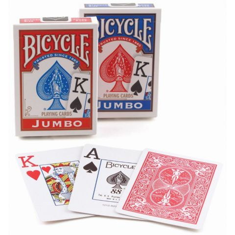 PLAYING CARDS BICYCLE P  JUMBO INDEX #88 (1004380) (BX)
