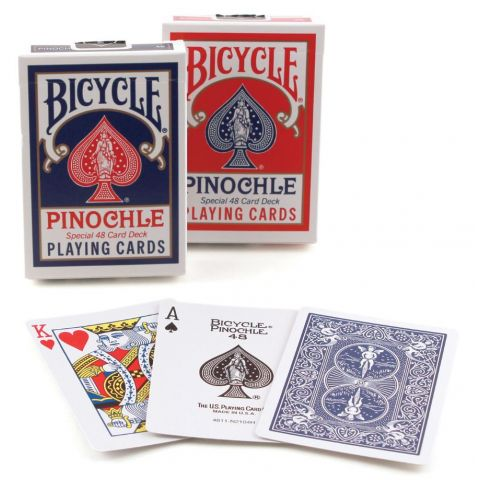 PLAYING CARDS BICYCLE PINOCHLE (BX)