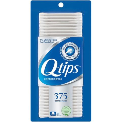QTIP COTTON SWABS 375'S