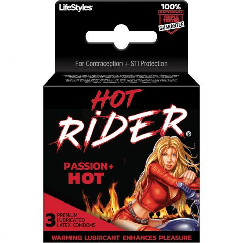 RIDER HOT (9855) 3'S **NEW** (DZ)
