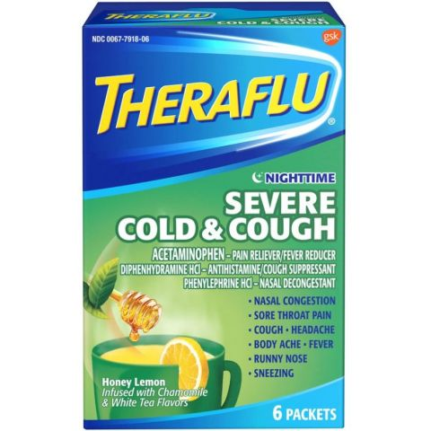 THERAFLU 6'S NT SEV COLD & CGH [44056577]