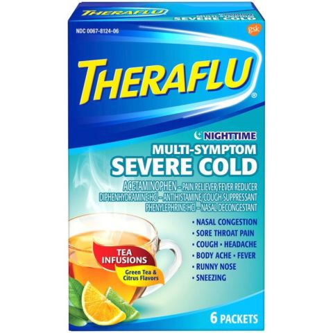 THERAFLU 6'S NIGHTIME MS SEV COLD LIPTON