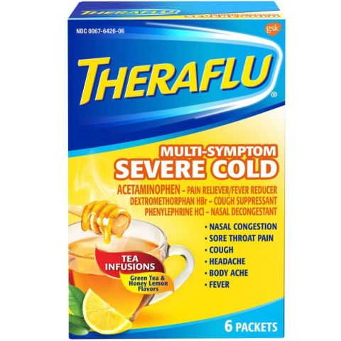 THERAFLU 6'S MS SEV COLD W/GRN TEA (64260603) (6PC)