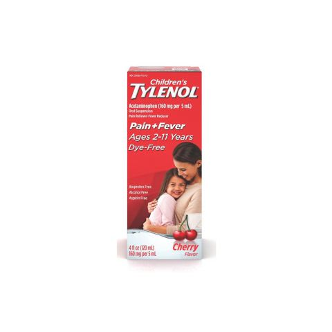 TYLENOL (CHD) 4oz CHERRY BLAST (6PC)