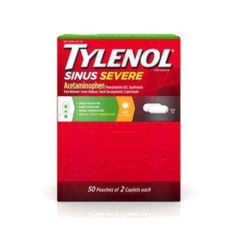 DSP* TYLENOL 50'S SINUS SEV  (BX)