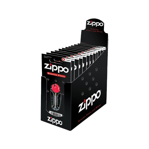 ZIPPO 6'S FLINT INDIVIDUAL CARDS (2406N) (BX)